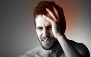 Признаки легкого сотрясения мозга