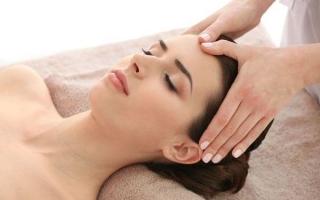 Массаж для снятия головной боли