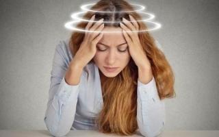 Симптомы и лечение психогенного головокружения