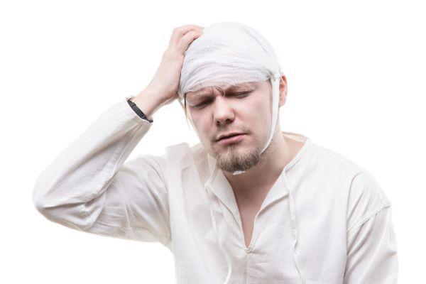 серьезная травма головы