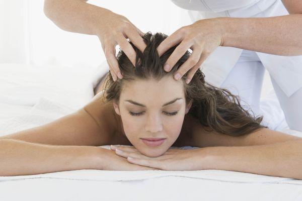 массажные движения на голове