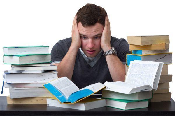 студент перед экзаменом