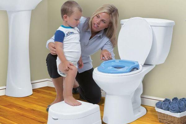 приучение ребенка к туалету