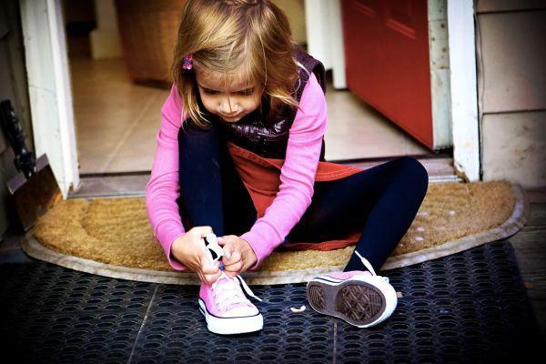 шнурование обуви