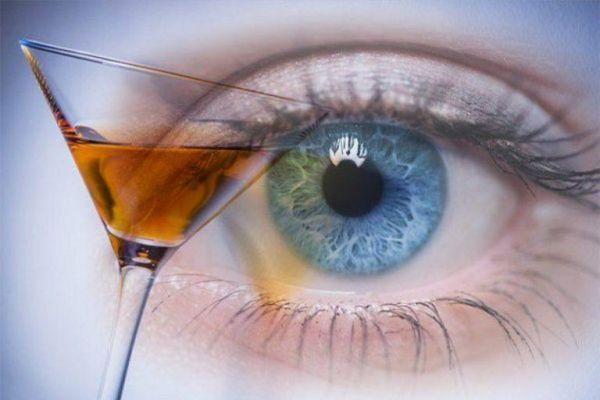 алкоголизм и зрение