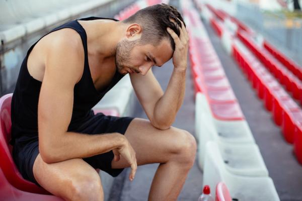 депрессия у спортсмена